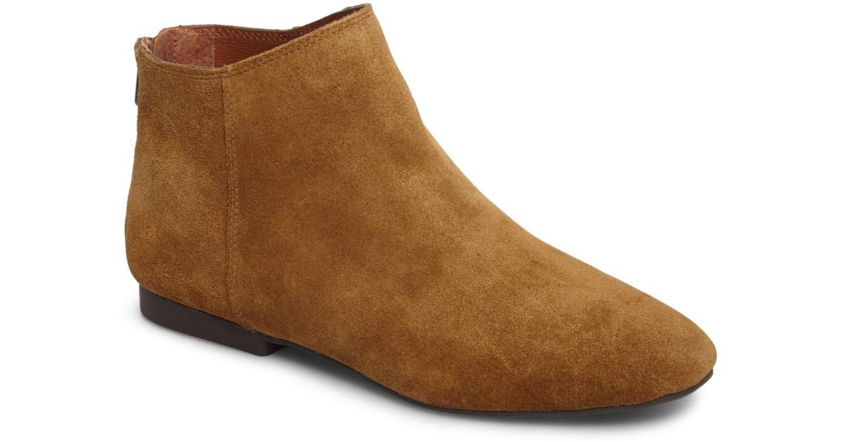 Outlet Where Can You Find Browse For Sale Lucky Brand Gaines Bootie(Women's) -Storm Suede For Sale For Sale Discount Fashion Style s3ebbMW