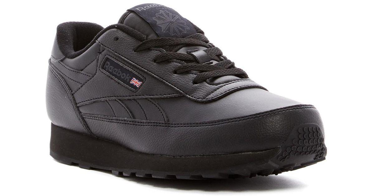 Reebok Men's Classic Renaissance Wide 4E Athletic Shoe, us-Black/DHG Solid Grey, 10 4E US