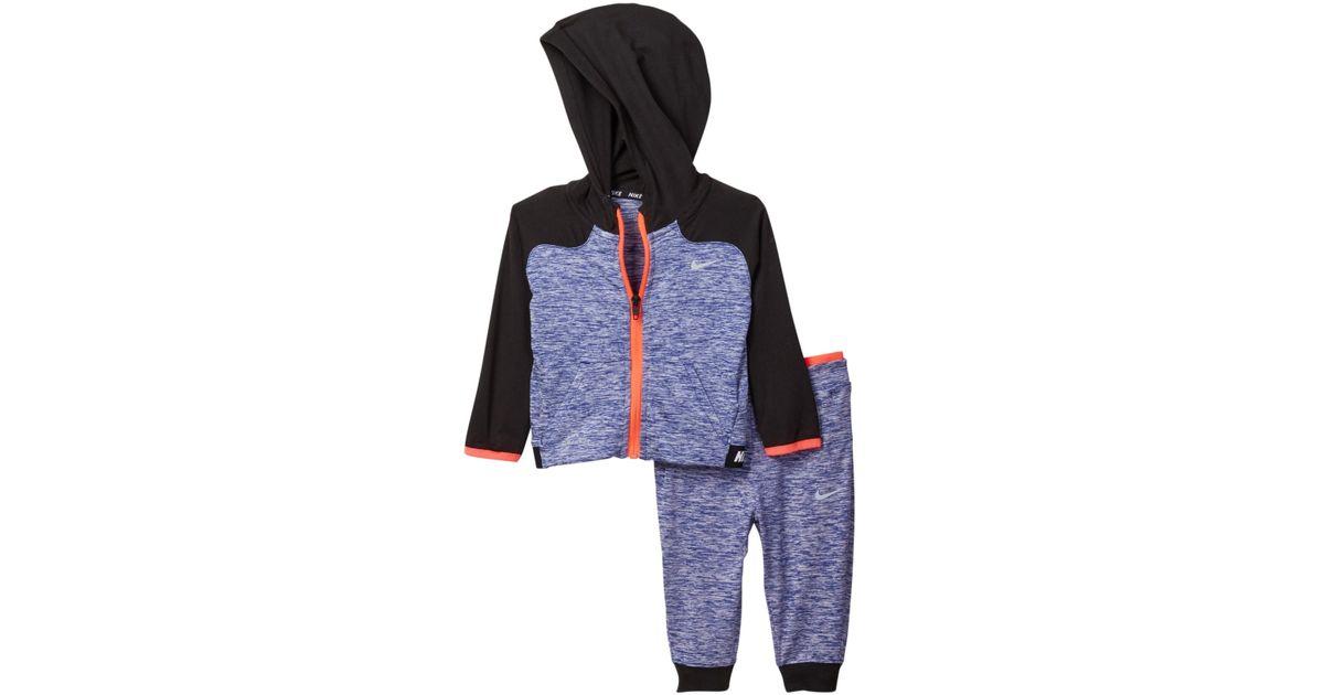 17a39562f Lyst - Nike Fz Hoodie   Harem Pants Set (baby Boys) in Blue for Men
