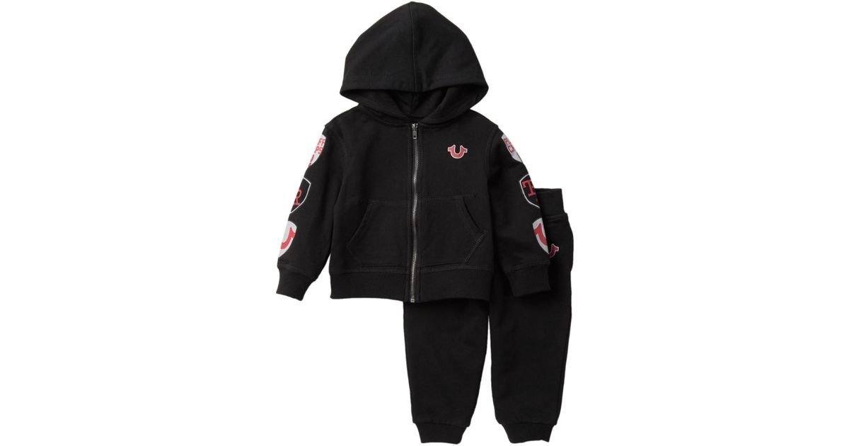 2f0d41ccd True Religion French Terry Sweatsuit (baby Boys) in Black for Men - Lyst