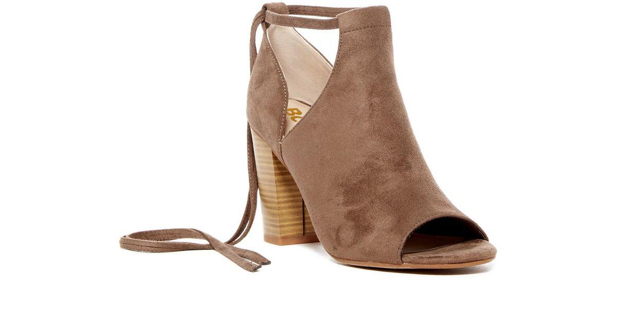 BC Footwear Carefree Peep Toe Bootie TN5SVd0YYL