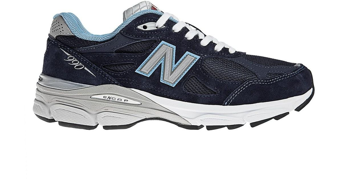 264d24253f2 Lyst - New Balance 990 Premium Running Shoe - Multiple Widths Available in  Blue