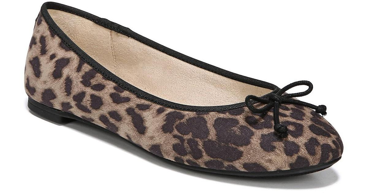d3bf466cd Lyst - Circus by Sam Edelman Charlotte Leopard Print Ballet Flat in Brown