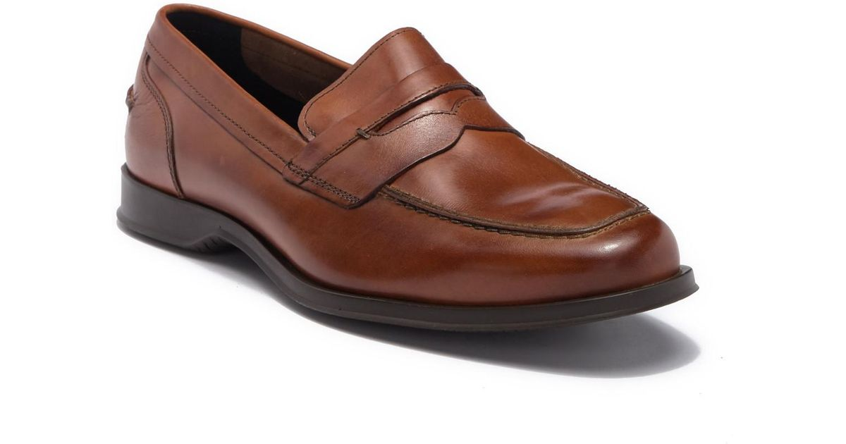 a42a1cd94ca Lyst - Cole Haan Fleming Leather Penny Loafer in Brown for Men