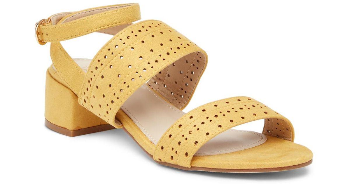 Catherine Catherine Malandrino Honga Perforated Sandal suFNxvSHOr