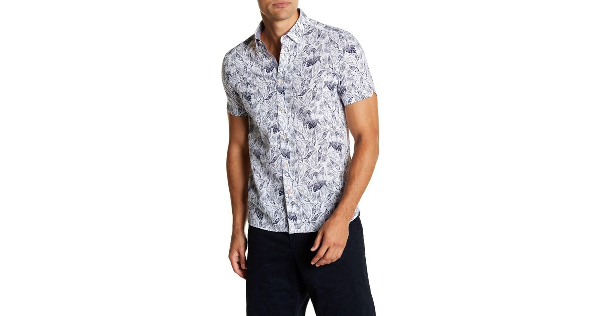 Ted Baker London Rednoes Giant Dot Sport Shirt New Styles Sale Online zUL27ckF7j