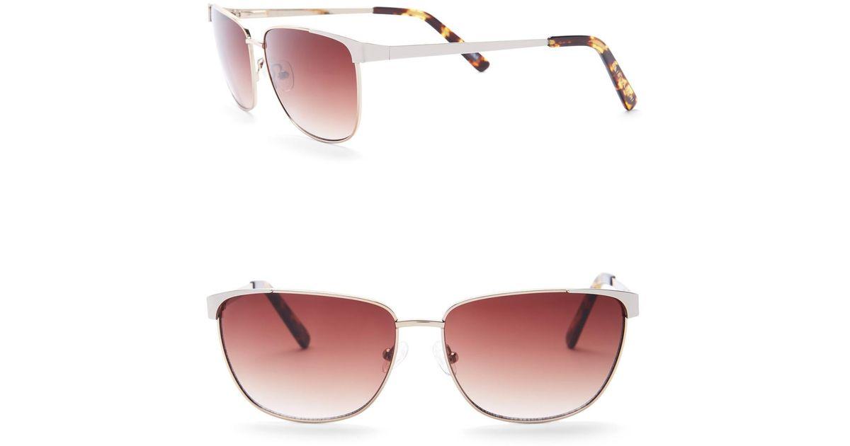 9c1f1ce734 Rectangle Metal Women s Lyst Sunglasses Elie Tahari 58mm qpXBXv