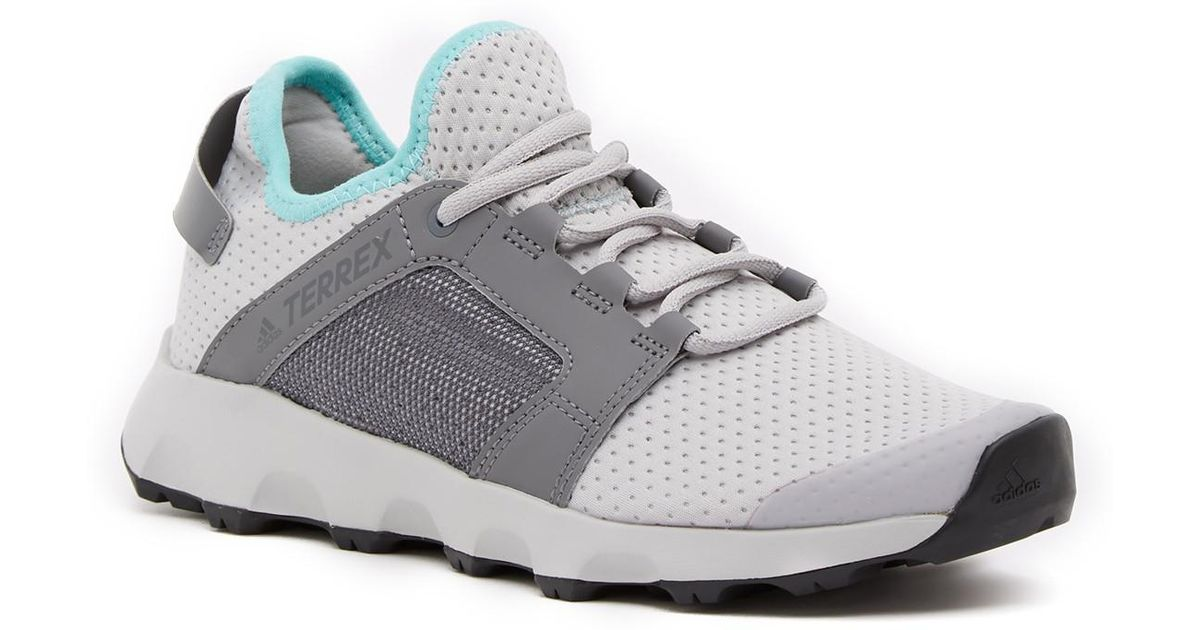 fa72c4e5990 Lyst - Adidas Terrex Voyager Dlx Athletic Sneaker in Gray