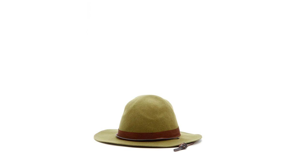Pendleton Park Ranger Hat In Green For Men Lyst