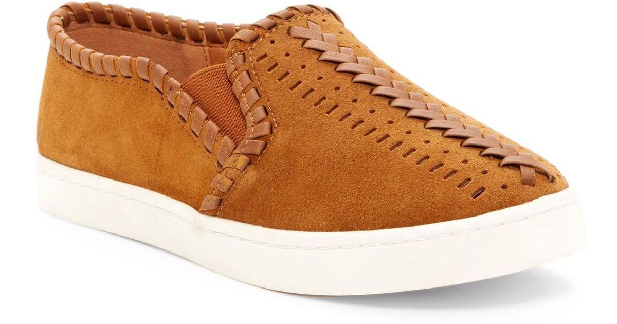 report aysun slip on sneaker in brown lyst