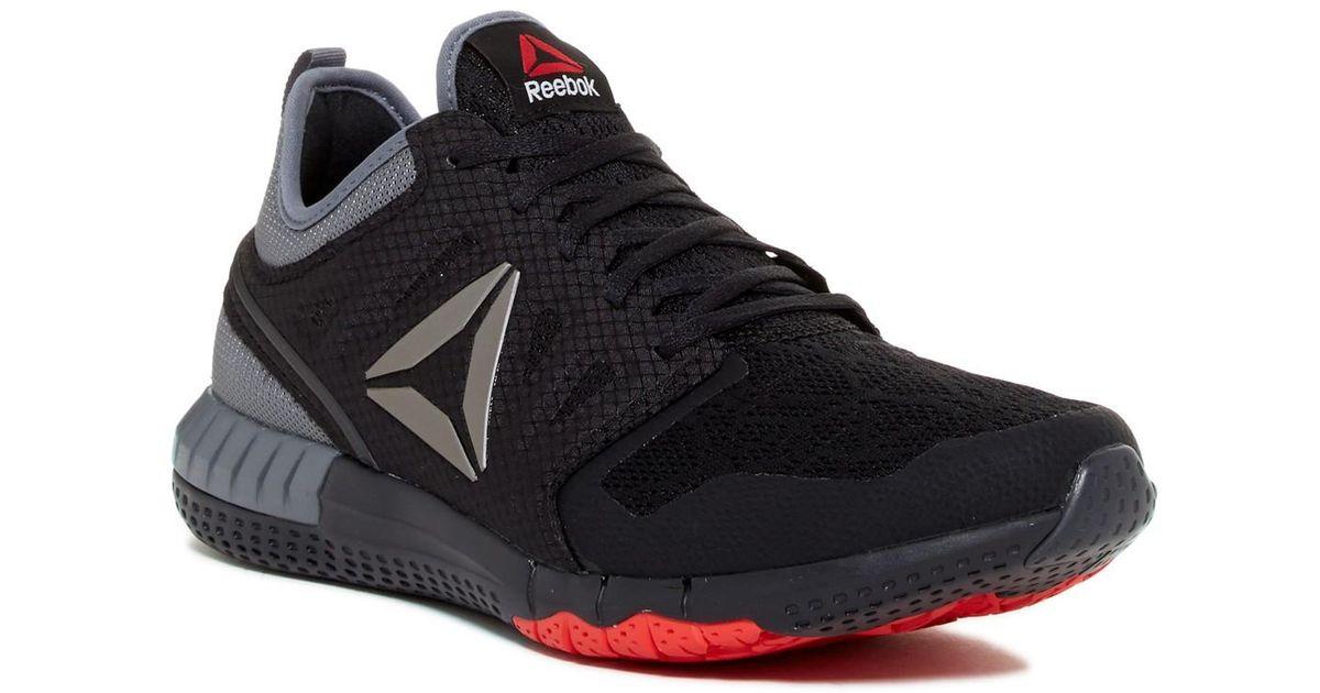 Lyst - Reebok Z Print 3d Running Shoe in Black for Men 21822eaf9