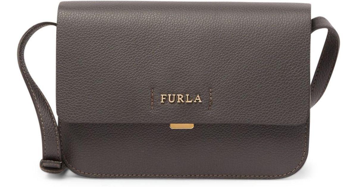 2249c1c063e2 Lyst - Furla Sveva Leather Crossbody Bag