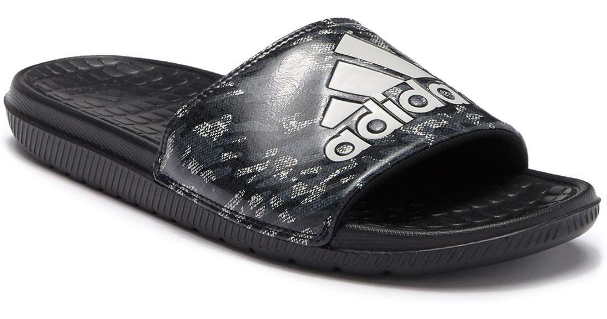 967877ead951 Lyst - adidas Voloomix Slide Sandal in Black for Men