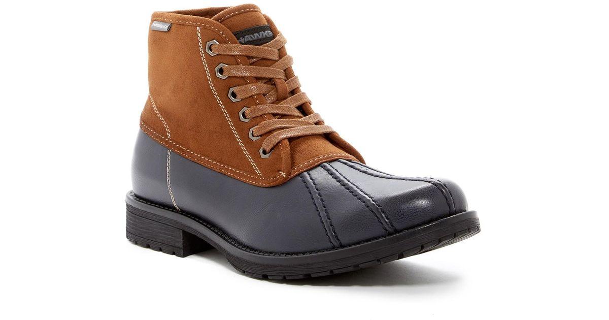 Lyst - Hawke   Co. Roy Duck Toe Boot in Blue for Men b00f0e560