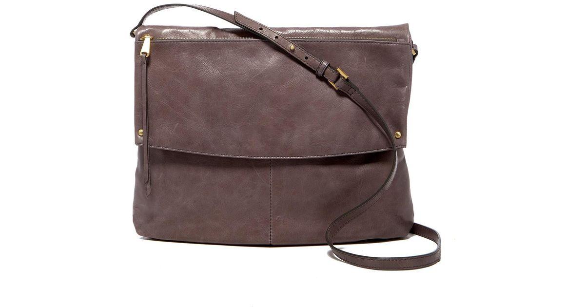 eedf495e143b Lyst - Hobo Kerrigan Leather Crossbody Bag