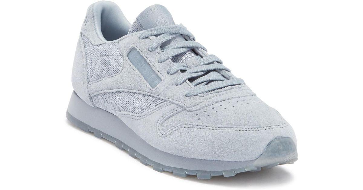 eb5099a3087e Lyst - Reebok Classic Suede Sneaker in Gray