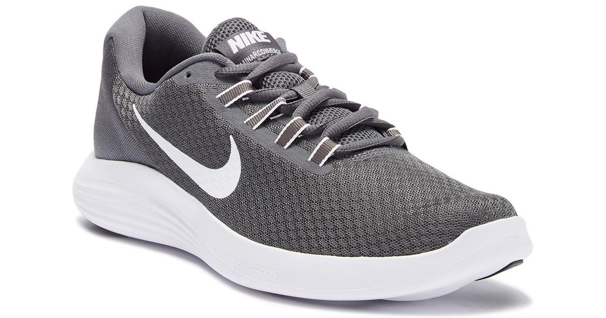quality design 118ad bb682 pied En à Gris de Pour Converge Lyst Nike course Homme Sneaker Lunar  qZwxF8aX