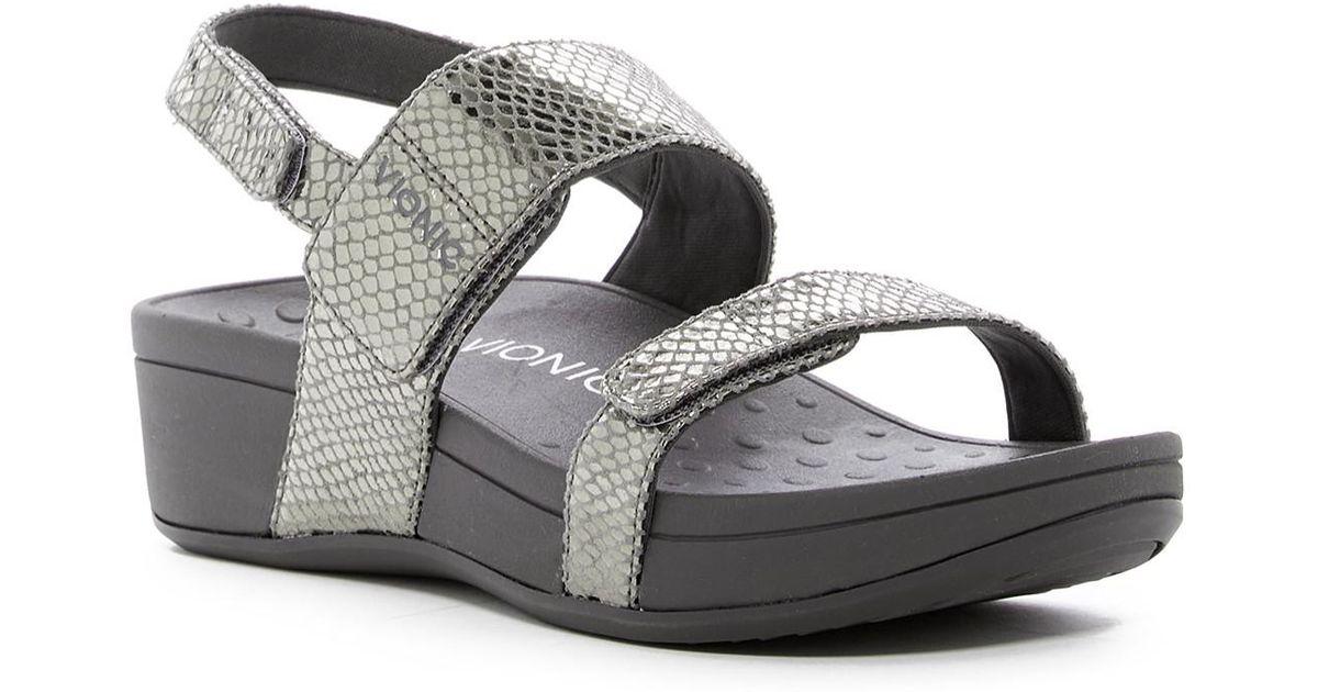 4fe2182a6e05 Lyst - Vionic Bolinas Platform Sandal