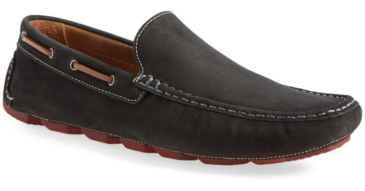b1950df240f Lyst - 1901  bermuda  Driving Shoe (men) in Black for Men
