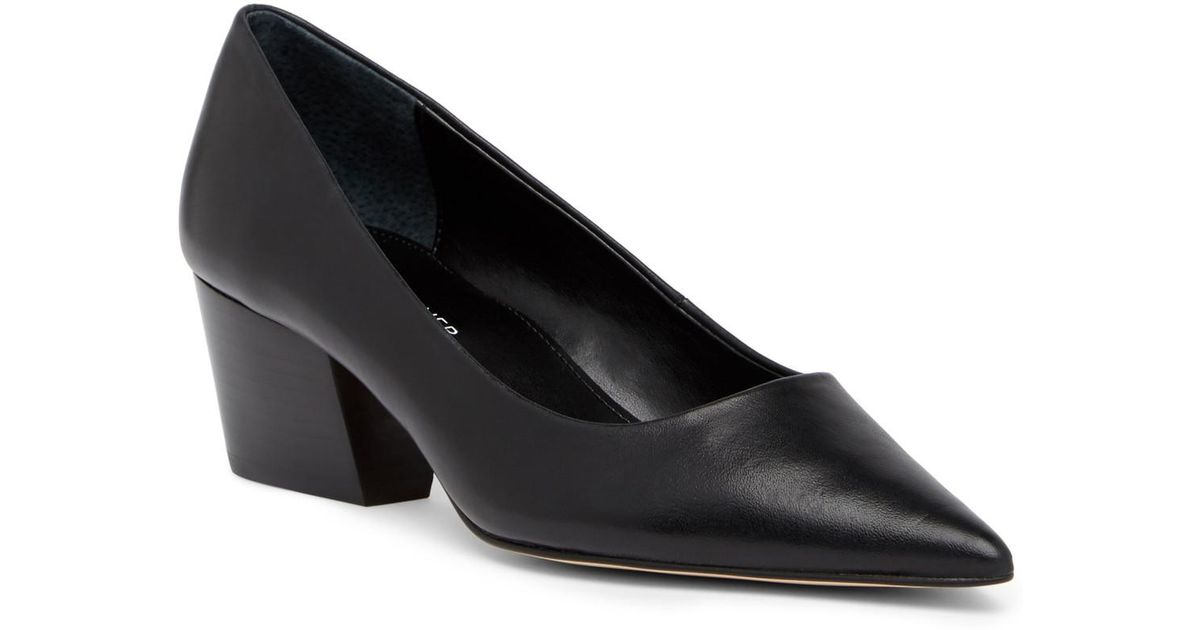 Donald Pliner Anni Pointed Toe Metallic Leather Pump QxP20y5a