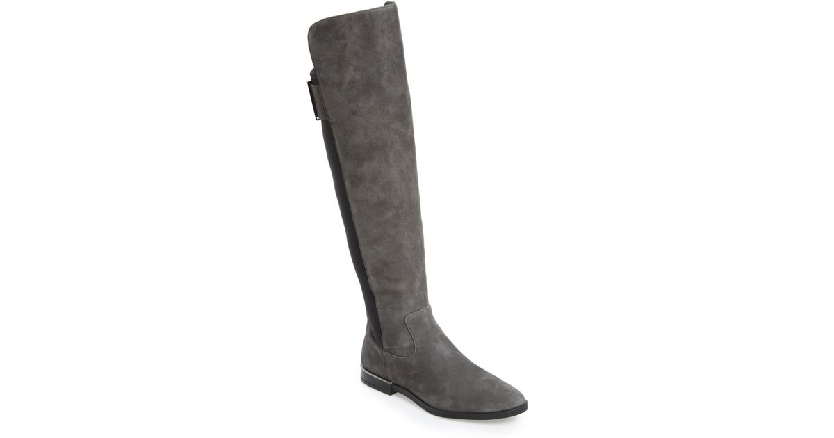 65f848ff1d7 Lyst - Calvin Klein 205W39Nyc Priya Over The Knee Boot in Black
