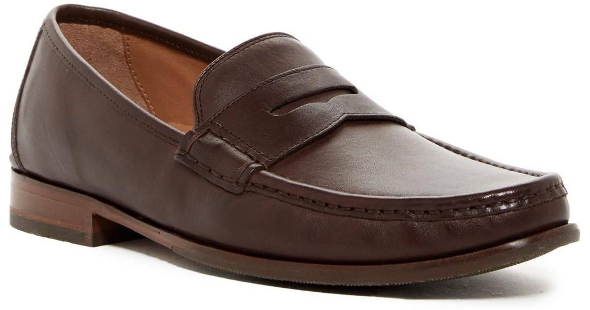 1f1e8e143ec Lyst - Cole Haan Aiden Grand Ii Penny Loafer - Wide Width Available in  Brown for Men