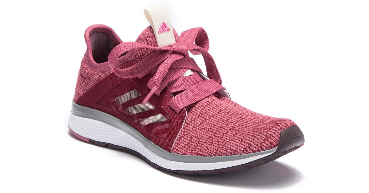 0ed86a24ef0 adidas Edge Luxe Running Sneakers in Red - Lyst