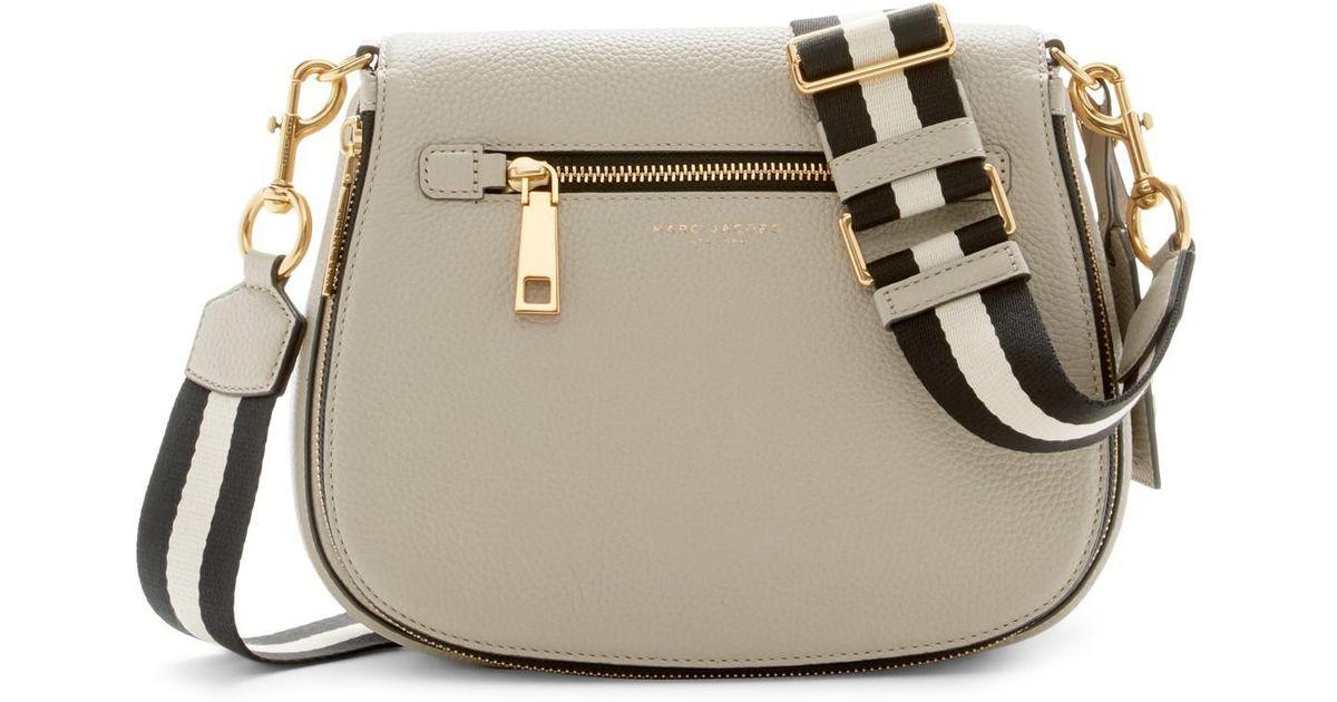 903c0a2f74 Marc Jacobs Gotham Leather Saddle Bag - Lyst