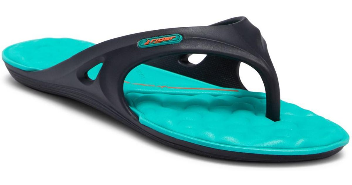 1af71eaefcf74 Lyst - Rider Monza Ii Waterproof Flip-flop (women) in Blue