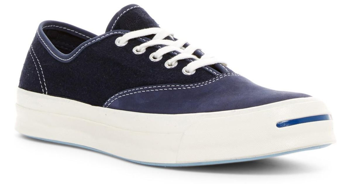 2b563396f05c Lyst - Converse Jack Purcell Signature Cvo Sneaker (men) in Blue for Men