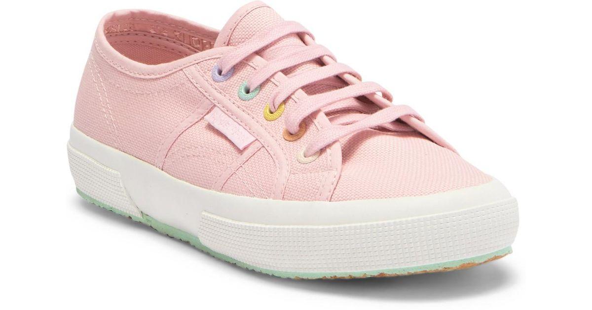 a4edca01a5bd8 Superga 2750 Rainbow Sneaker in Pink - Lyst
