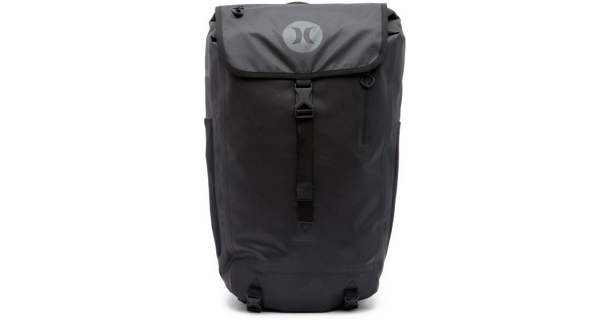Lyst - Hurley Wet dry Elite Backpack in Black for Men 4c04113fd96c0
