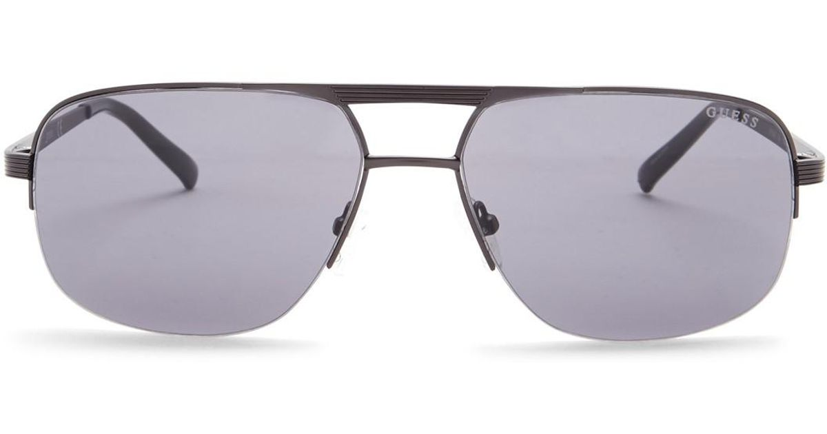 dee3f73f76 Guess Men Navigator 58mm For Sunglasses Men s Aviator Caravan Lyst dwRx8zqHd
