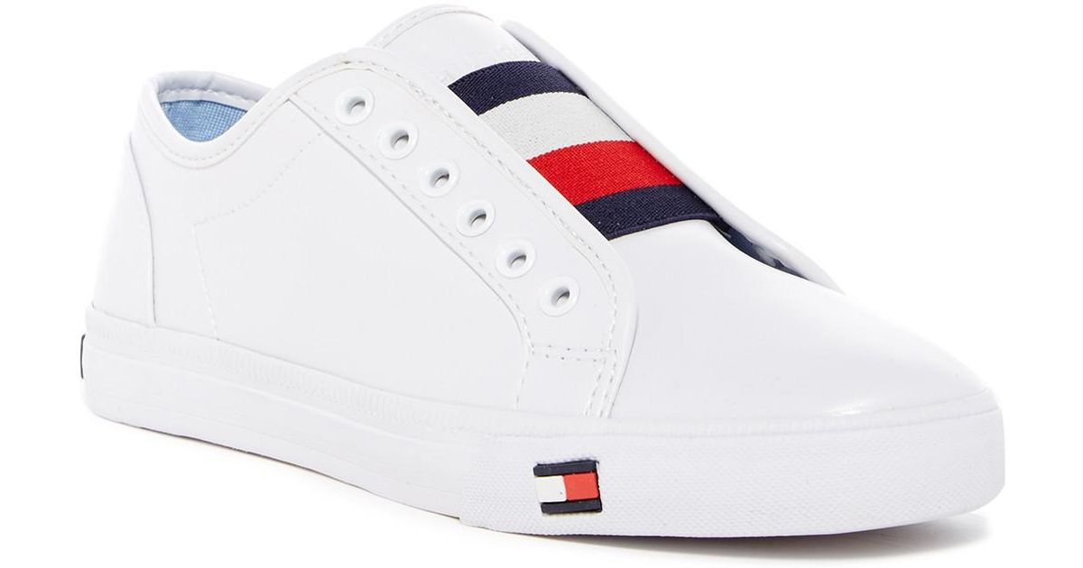 fd78ac563 Lyst - Tommy Hilfiger Anni Sneaker in White