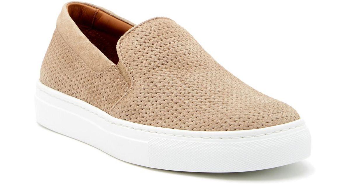 fd7805e6701 Lyst - Aquatalia Alisha Slip-on Sneaker in Natural