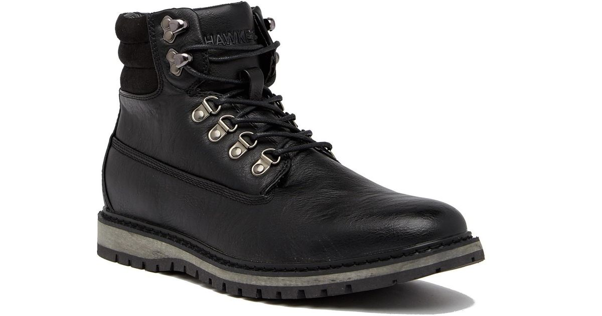 c385fdffeb8 Lyst - Hawke   Co. Raleigh Leather Boot in Black for Men