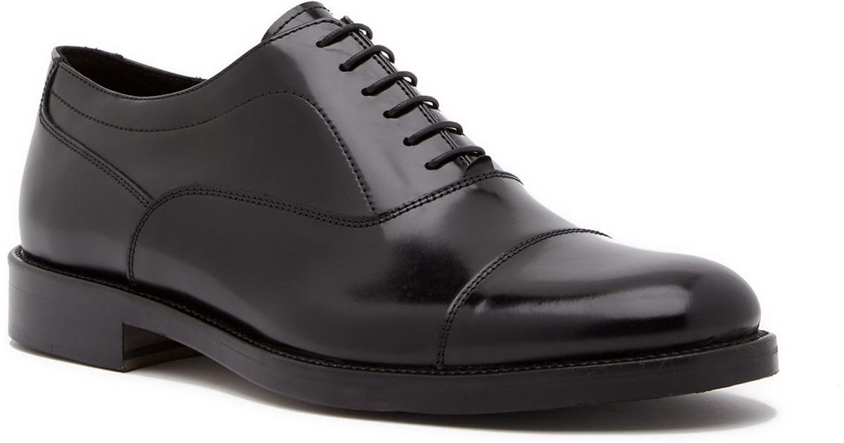 Theory Zandt Leather Oxford cnhN9Xa7d