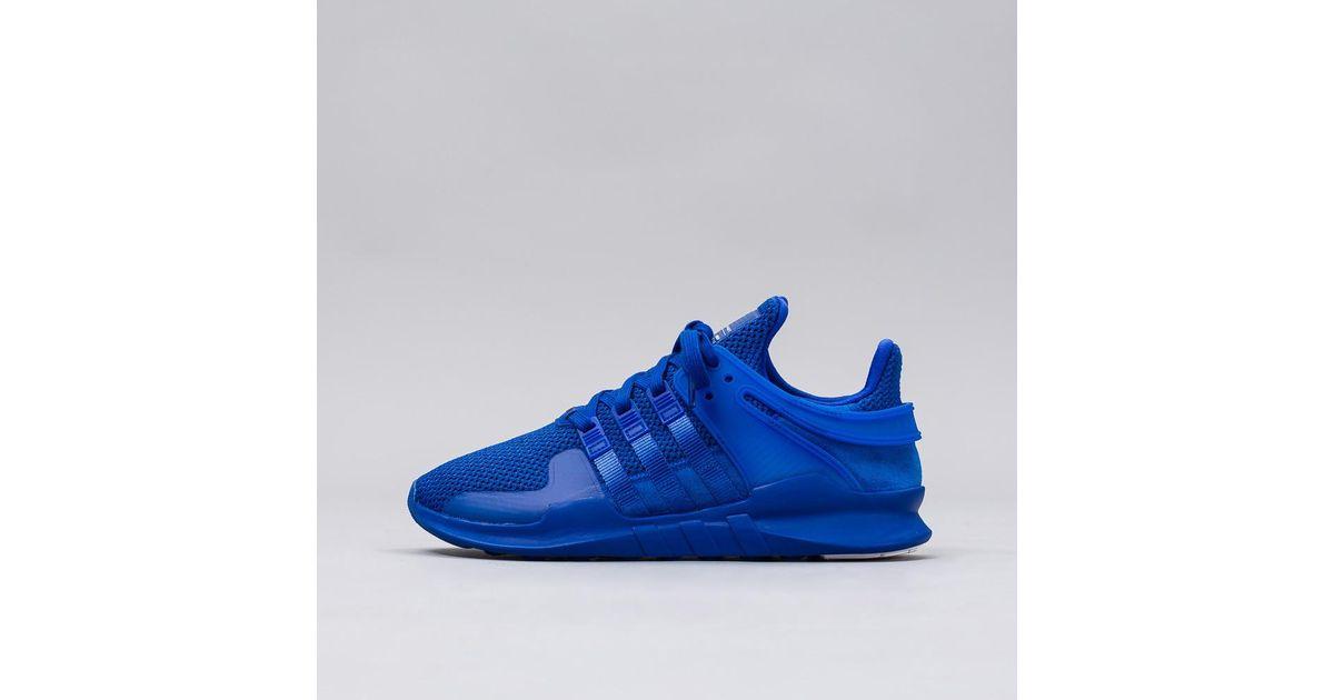super popular 634e9 7c8d5 Lyst - adidas Originals Eqt Support Adv In Power Blue in Blue for Men