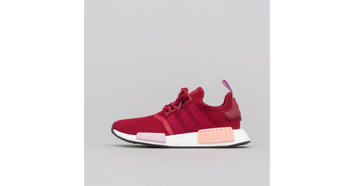 a408d64b53271 Lyst - adidas Women s Nmd R1 In Burgundy for Men