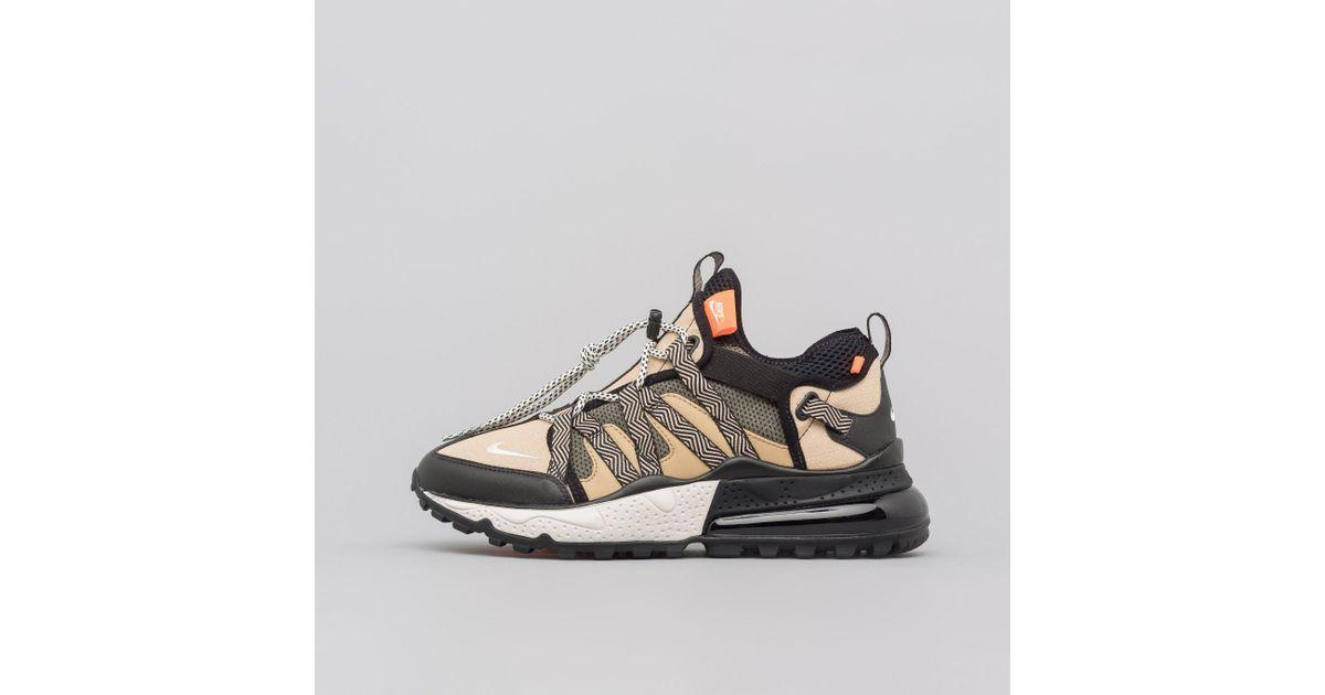 33f55787751e Nike Air Max 270 Bowfin In Black desert in Black for Men - Lyst