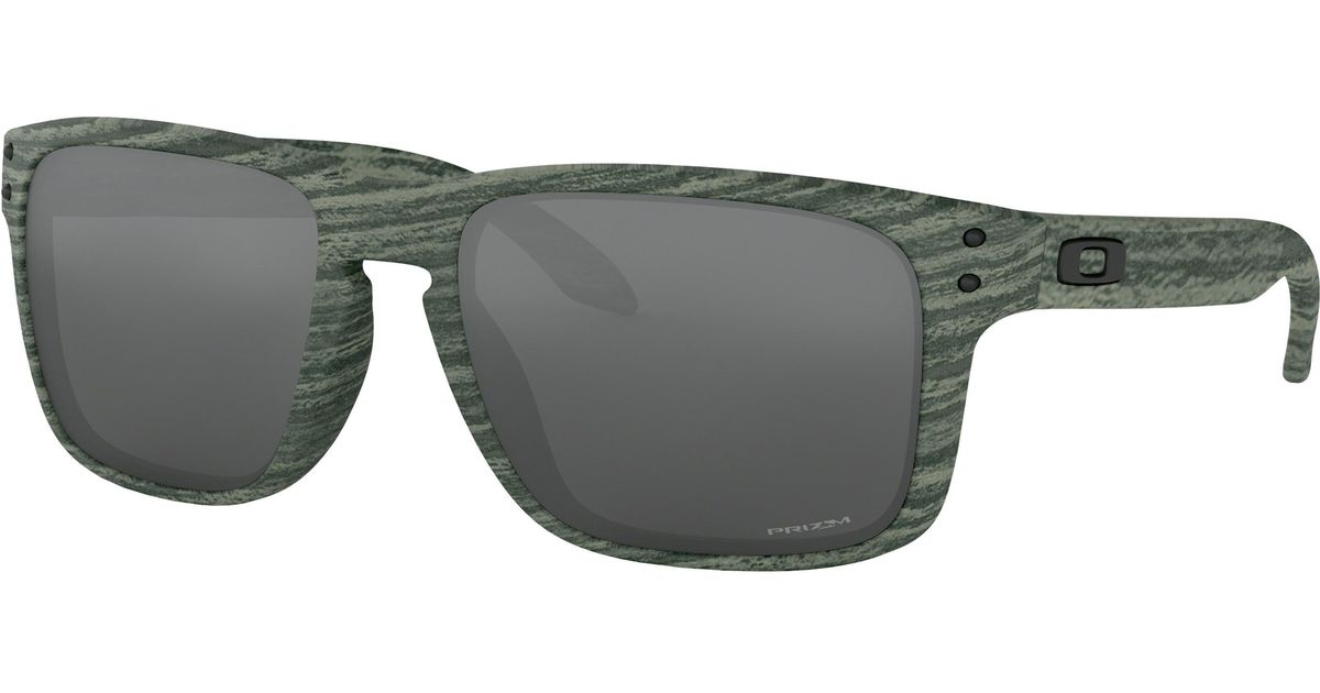 c1cbe0ad13 ... cheap lyst oakley holbrooktm woodstain collection for men 14e65 32116
