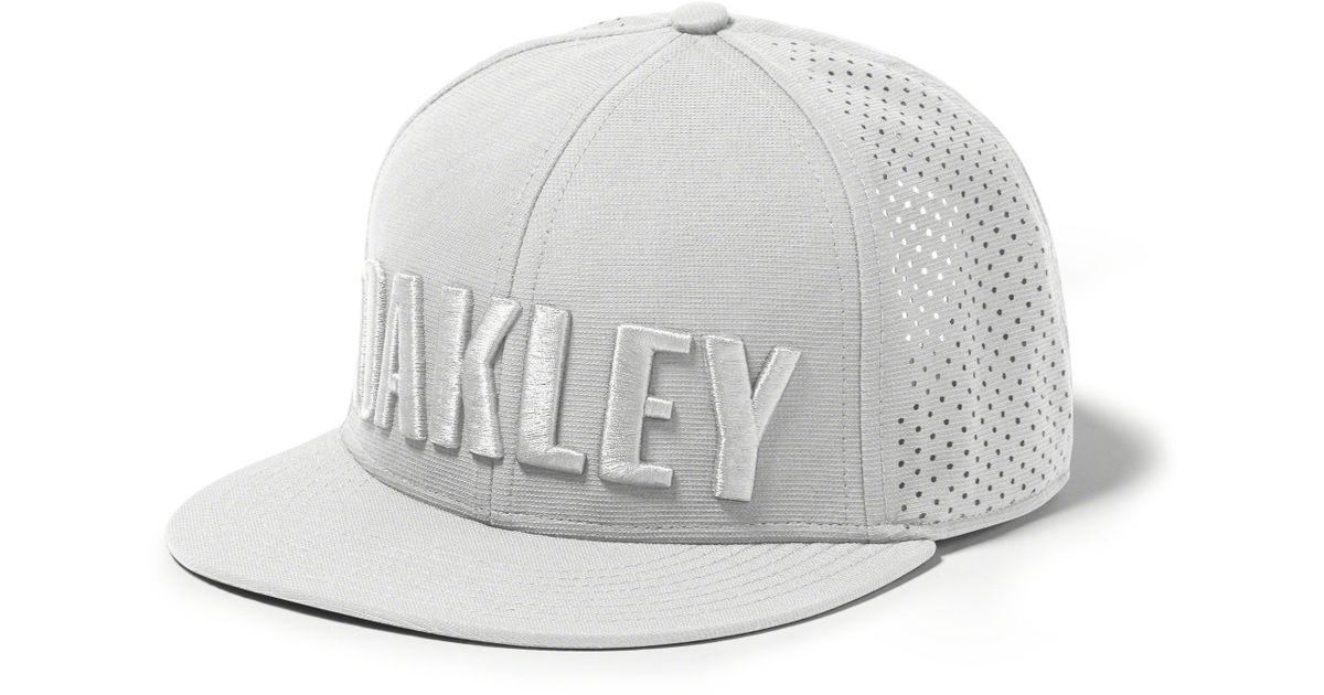 69aa1dec819f7 ... netherlands lyst oakley perf hat in gray for men 430b1 031d8