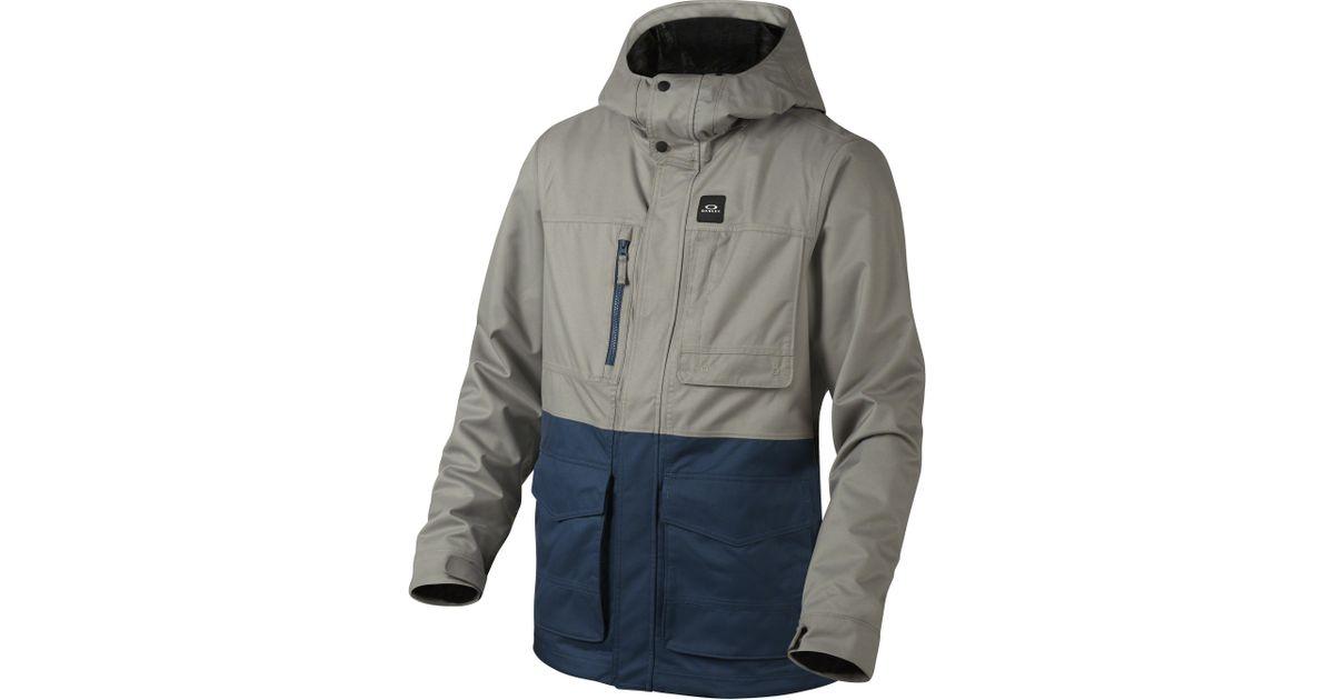 e78de9a8c00 Lyst - Oakley Great Scott Biozonetm Shell Jacket in Gray for Men