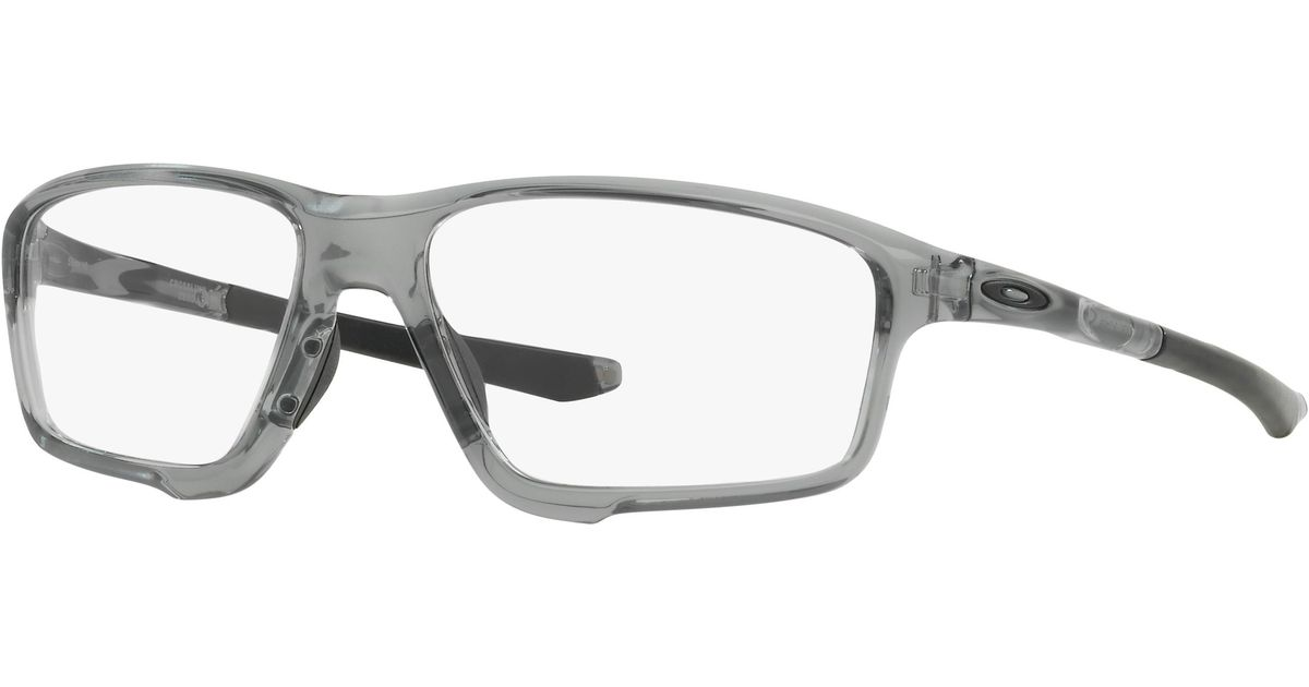 427a45e7fb ... matte black b2b24 8ff5b  order lyst oakley crosslink zero 58 in gray  for men a4a0a eb87a
