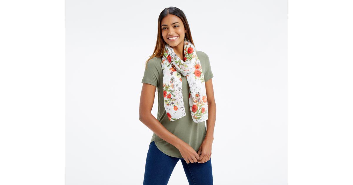oasis scarf in multicolor multi lyst