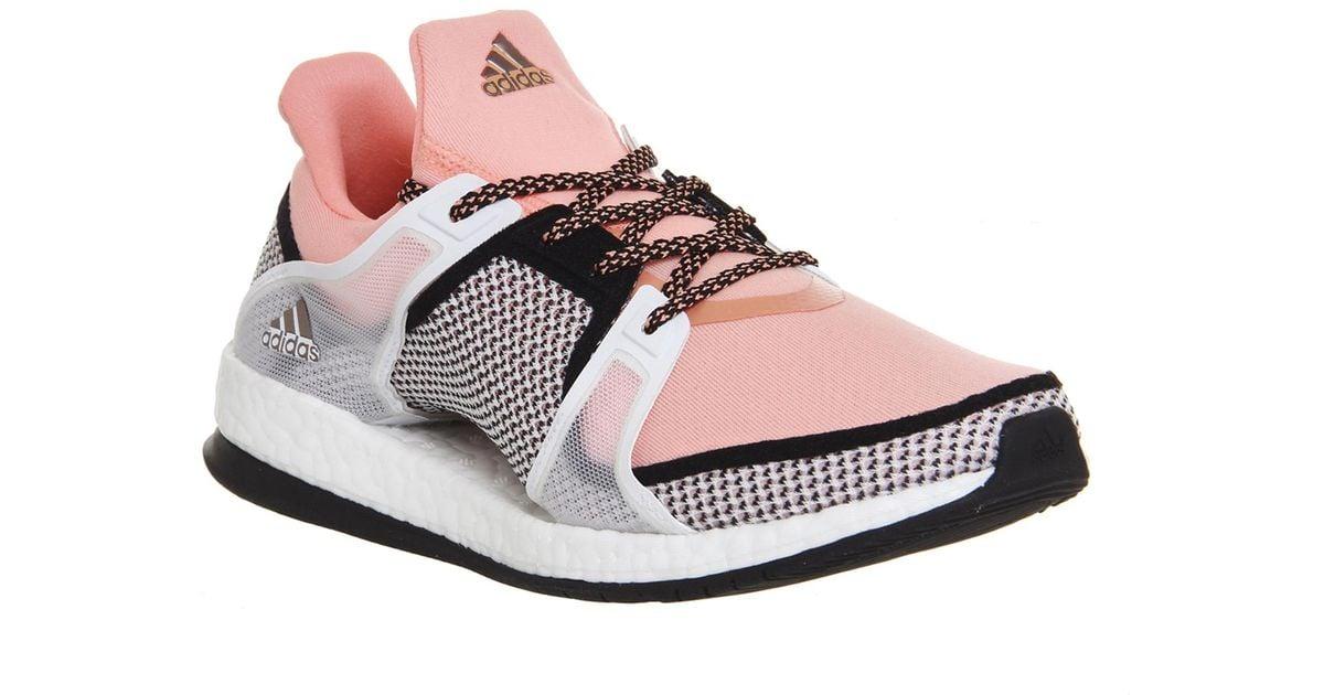 b8a448b47 ... sweden lyst adidas originals pure boost x tr in pink 0afb3 660c5