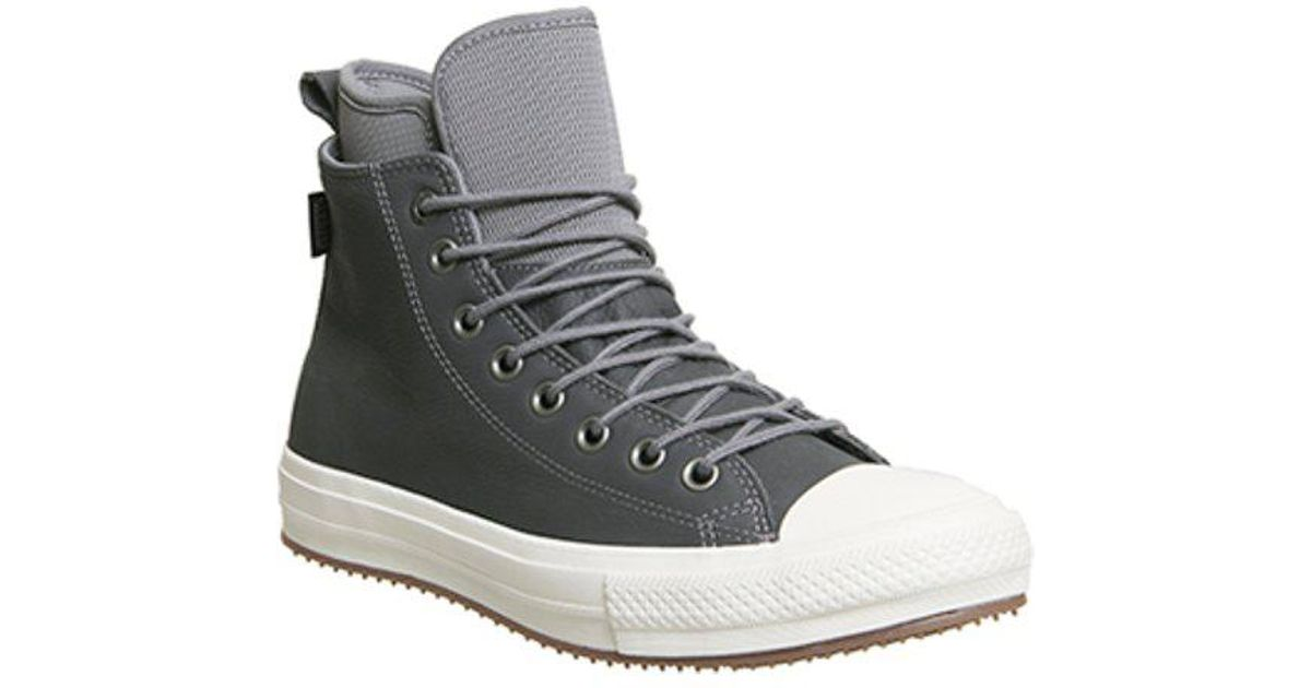 66230d24a8ca Lyst - Converse All Star Hi Wp Boot in Gray for Men