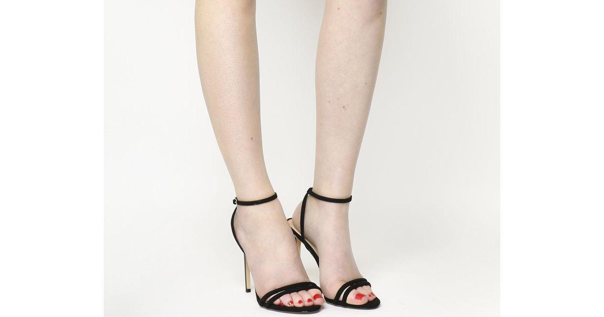 20adb3843c Office Hibiscus Sandals in Black - Lyst