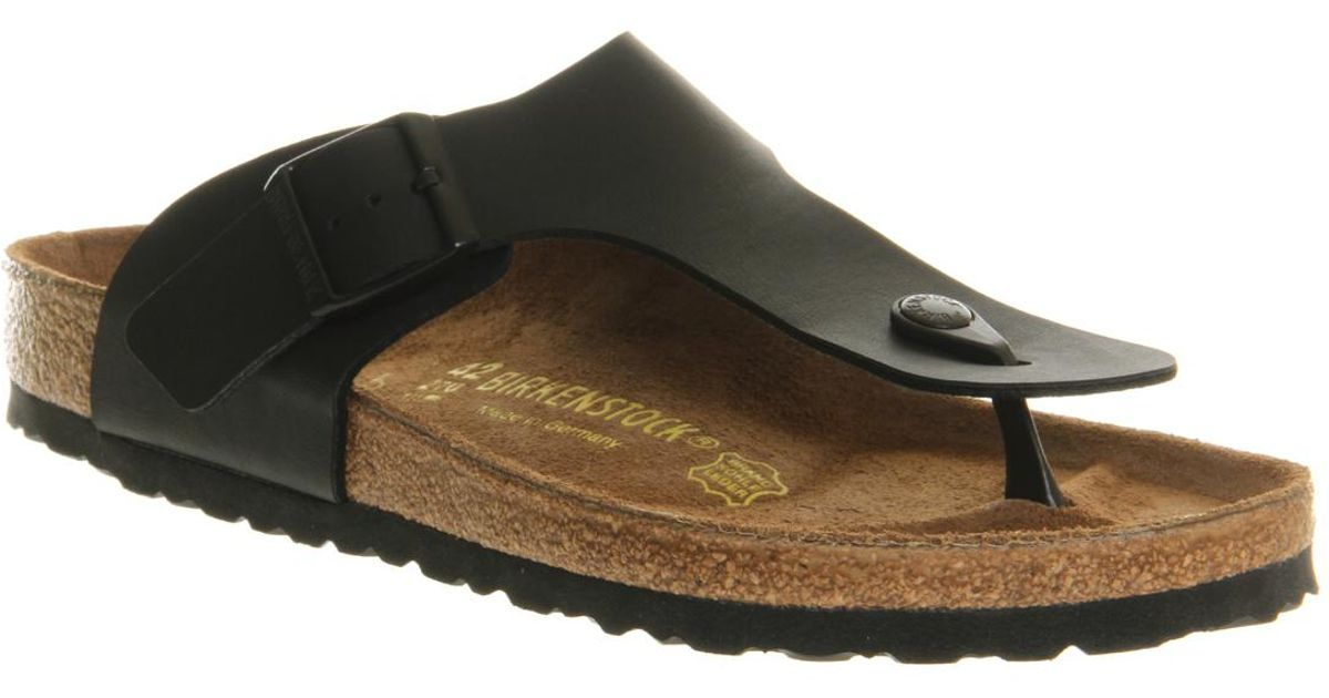 21709e43ec8 Lyst - Birkenstock Ramses Thong Sandals in Black for Men