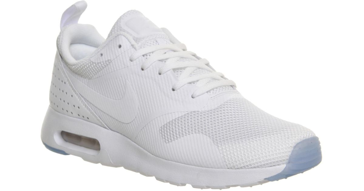 75af08e1fc ... new style lyst nike air max tavas in white for men 6fc1f ac2a5